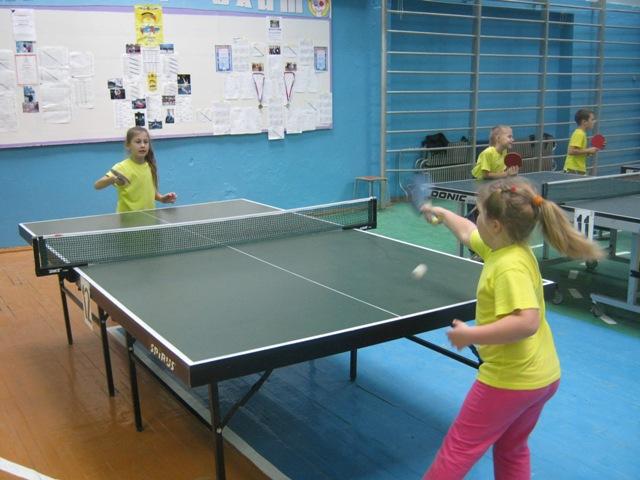 Занятия в теннисном клубе